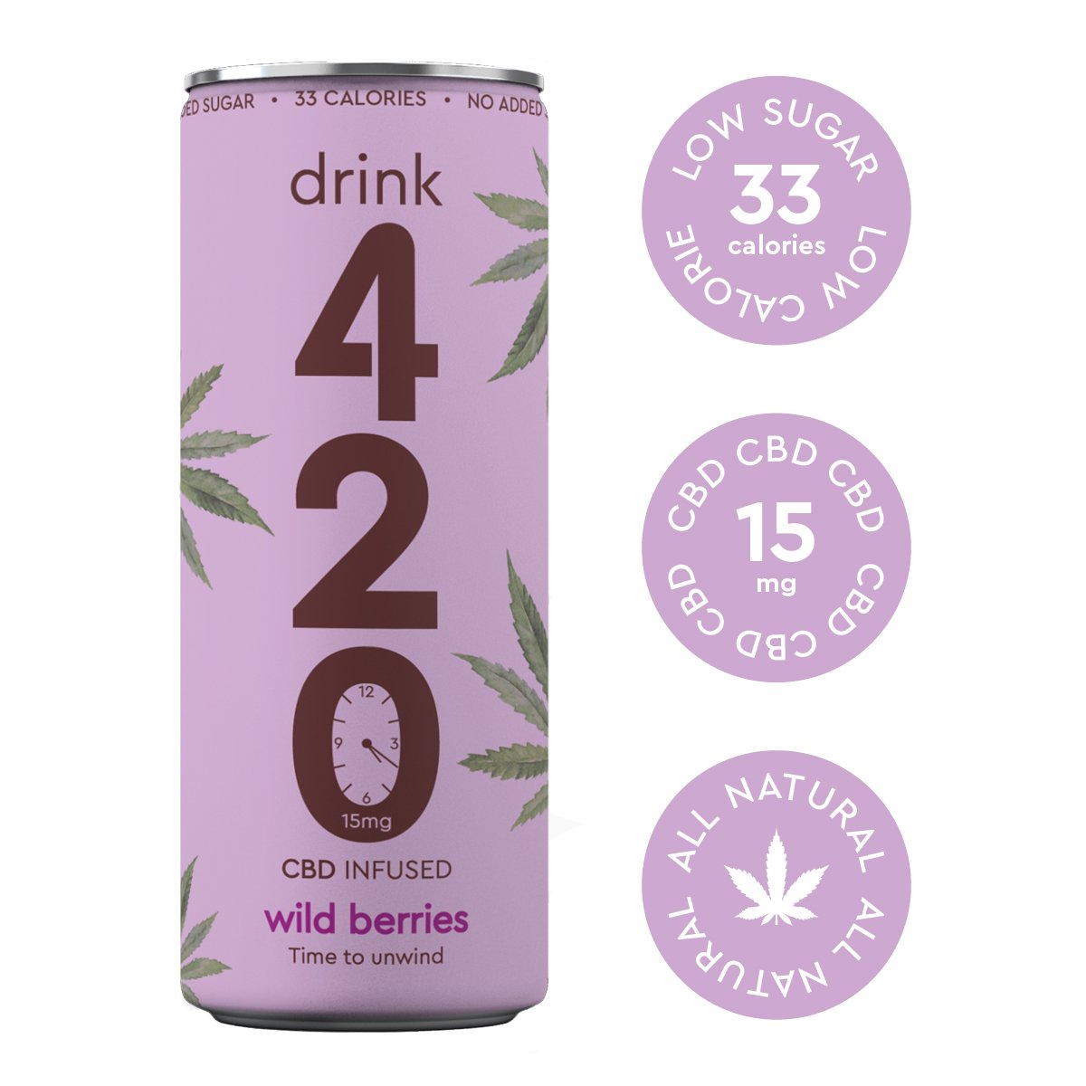 Drink 420 CBD 15mg