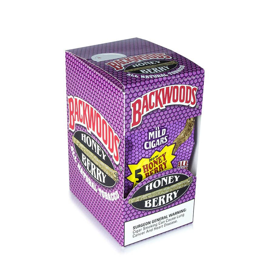 Backwoods Cigars 5 pack - Honey berry