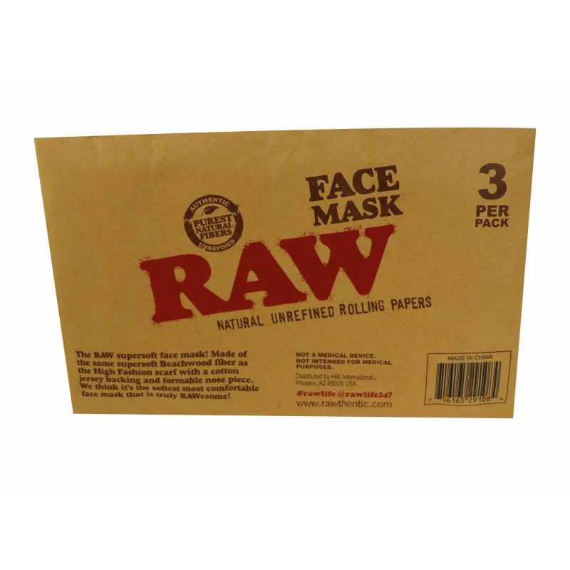 RAW Face Mask 3 Pack