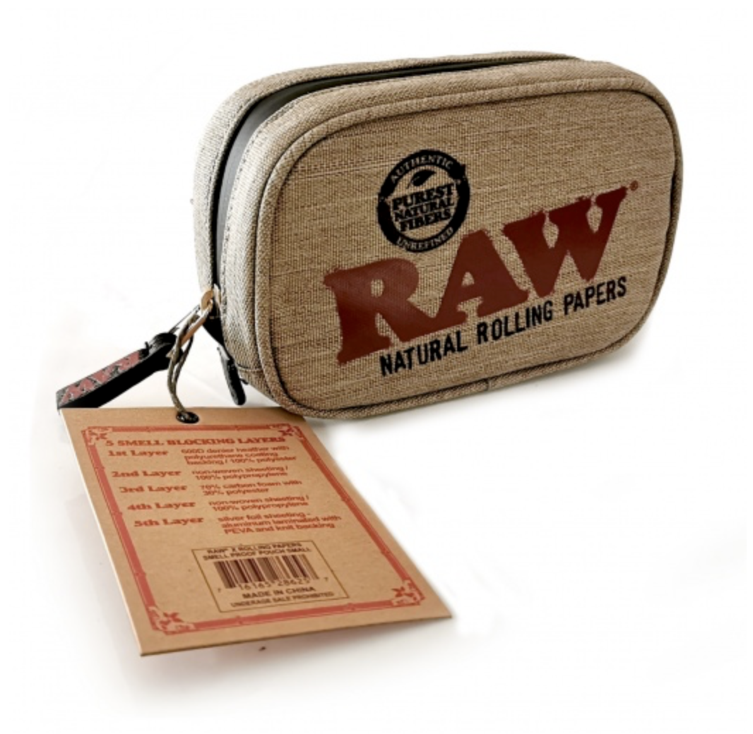 RAW Smell Proof Smokers Pouch