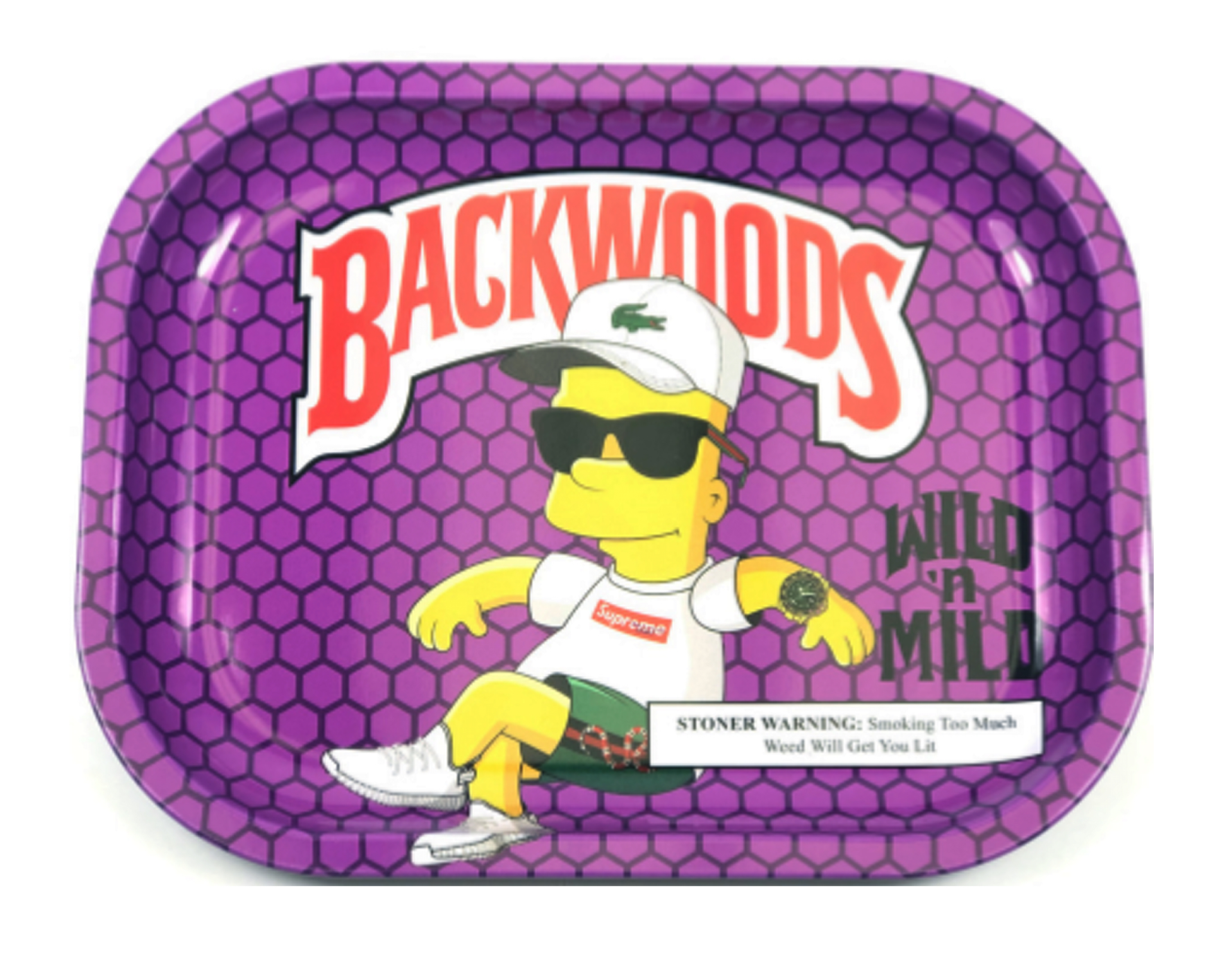 Backwoods Wild N Mild Rolling Tray