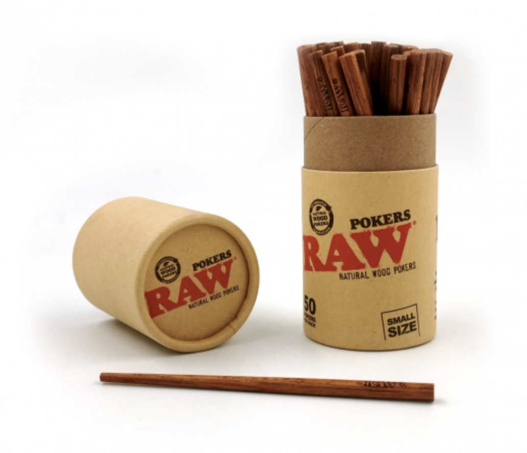 RAW Natural Wood Poker - Small